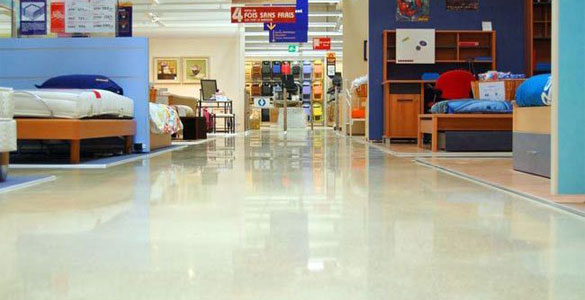Polished Concrete Floor Indianapolis